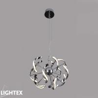 LED полилей FRANKA висящ 30W 2700K 500мм хром Lightex