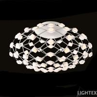 LED полилей AMORE 48W 3200K 500x270мм бял Lightex