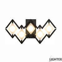 LED аплик VALENTINA 5W 3200K 250x75x120мм черен Lightex