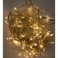 LED въже 100 LED топло бял 2W 9м. с вграден контролер IP44 Lightex