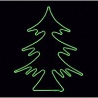 LED Коледна елха 360LED 14.4W 44x51см. зелена IP44 220V