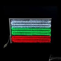 LED Влагозащитен национален флаг 237LED 18W 70x40см. IP65 220V Lightex