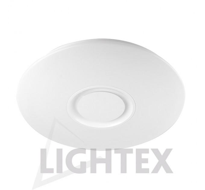 LED Музикален плафон 24W 4000K Ф400 Blue Tooth Plastic Lightex