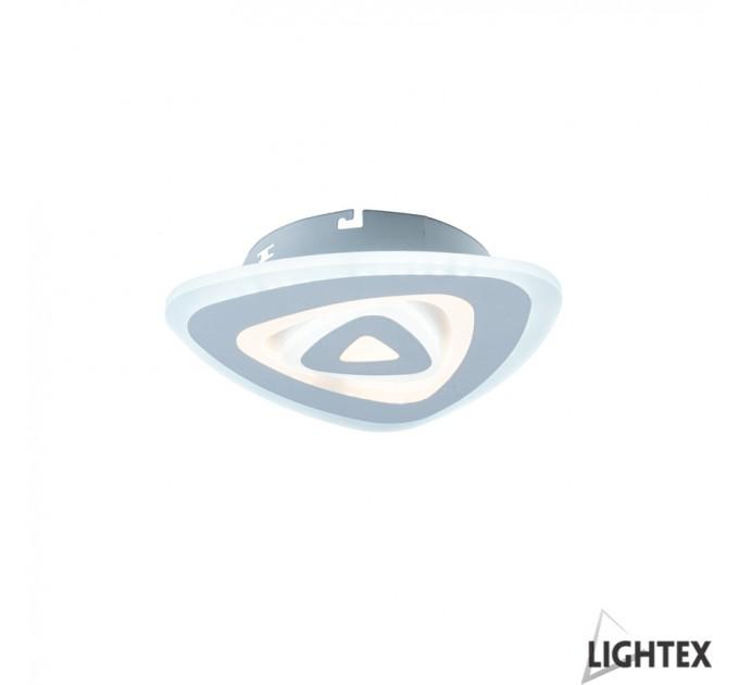 LED Плафон TURN II бял max36W 220V 3000K/4000K/6500K Ф240мм Lightex