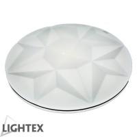 LED плафон CIRCON бял димируем+нощен режим с дист.управление 60W от 3000K до 6500K Ф450 Lightex