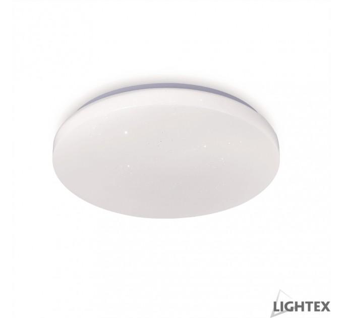 LED плафон CRYSTAL 18W 4000K Ф300mm IP44 Lightex