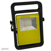 LED Преносим прожектор 10W 6000K IP44 с USB захранване Lightex