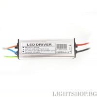 Led драйвър 20W 27-36V 550mA IP65