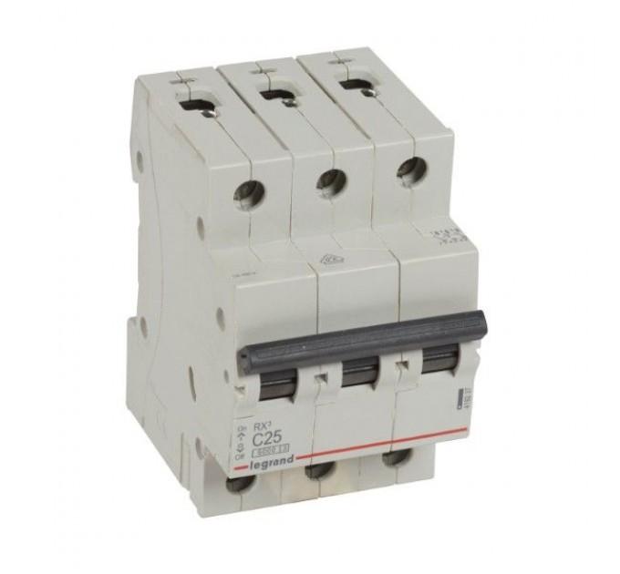 Legrand Автоматичен предпазител RX3 3P C25 6000A 419237