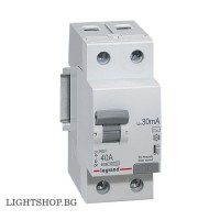 Legrand Дефeктно токова защита RX3 ID 2P 40A AC 30MA 402025