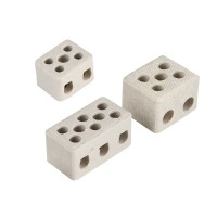 Керамична  клема триполюсна 4мм2 NO.2-3