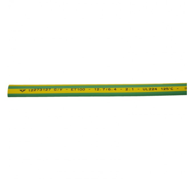Elematic Термосвиваем шлаух ET100 9.5/4.7 жълто зелен 1 м.12273095G/V