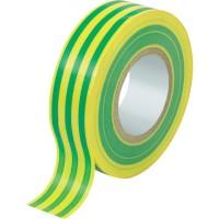 ELEMATIC Изолирбанд NI 20T 15x0.13mm 10m жълто-зелен