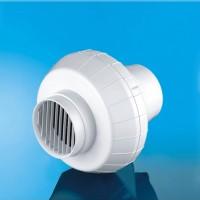 Вентилатор EURO 0 Ф150/160 бял полипропилен центробежен 007-0047 DOSPEL