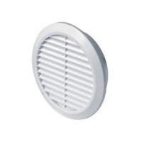Вентилационна решетка CLASSIC T31 кръгла Ф125 бяла PVC AWENTA