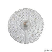 LED платка с магнит кръг 12W 4000K 130mm Lightex