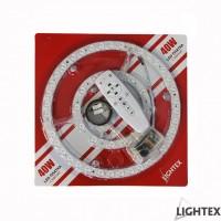 LED платка с магнит димируема 40W WW+CW 256mm с дистанционно Lightex