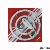 LED платка с магнит димируема 60W WW+CW 305mm с дистанционно Lightex