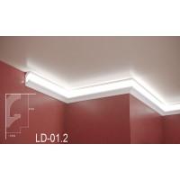 Профил за скрито осветление LD-01.2 2м.