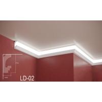 Профил за скрито осветление LD-02 2м.