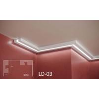 Профил за скрито осветление LD-3 2м.
