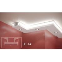 Профил за скрито осветление LD-14 2м.