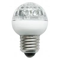 LED лампа AC 230V 36 leds 3.6W E27 IP40 жълт Real