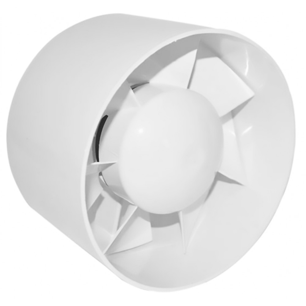 Вентилатор EURO 2 Ф120 бял осов за монтаж в тръба 007-0052 DOSPEL