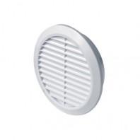 Вентилационна решетка CLASSIC T22 кръгла Ф150 бяла PVC AWENTA