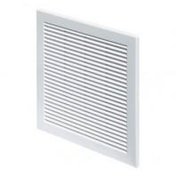 Вентилационна решетка TRU TRU30 квадратна 100x100 бяла с мрежа PVC AWENTA