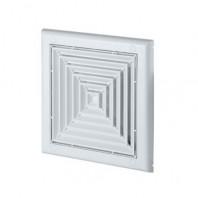 Вентилационна решетка EXCLUSIVE TS3 квадратна 190x190 Ф100  бяла с мрежа  AWENTA