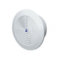 Вентилационна решетка за таван T66 Ф150 кръгла бяла с мрежа PVC AWENTA