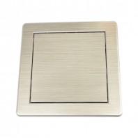 Ревизионна рамка  DT DT10SR отвор 150х150 сребро PVC AWENTA